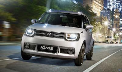 2017 Maruti Ignis SUV vehicle