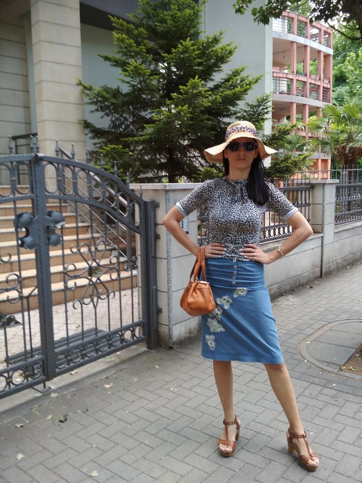 #denimskirt #fashionblogger #summer