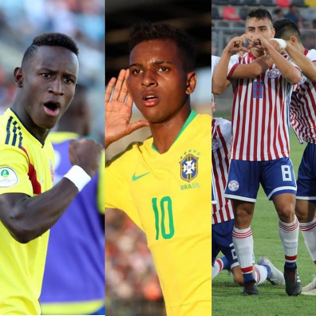 Resumen de la tercera jornada del Sudamericano Sub 20