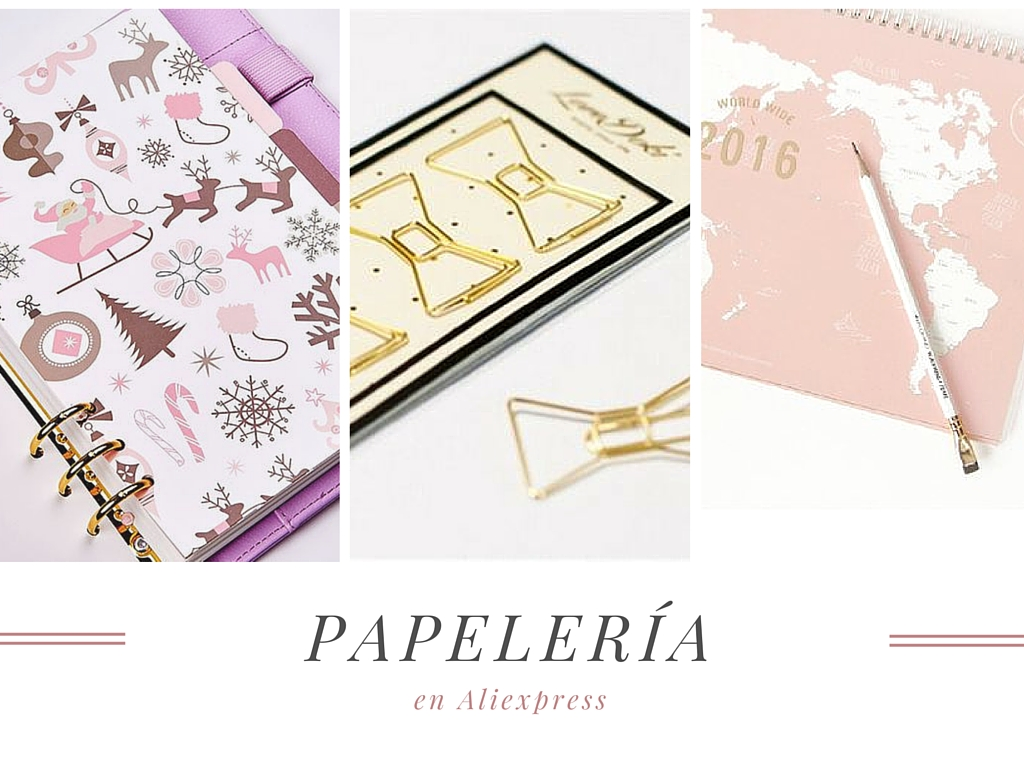 papelería, stationery, cute, aliexpress, cheap