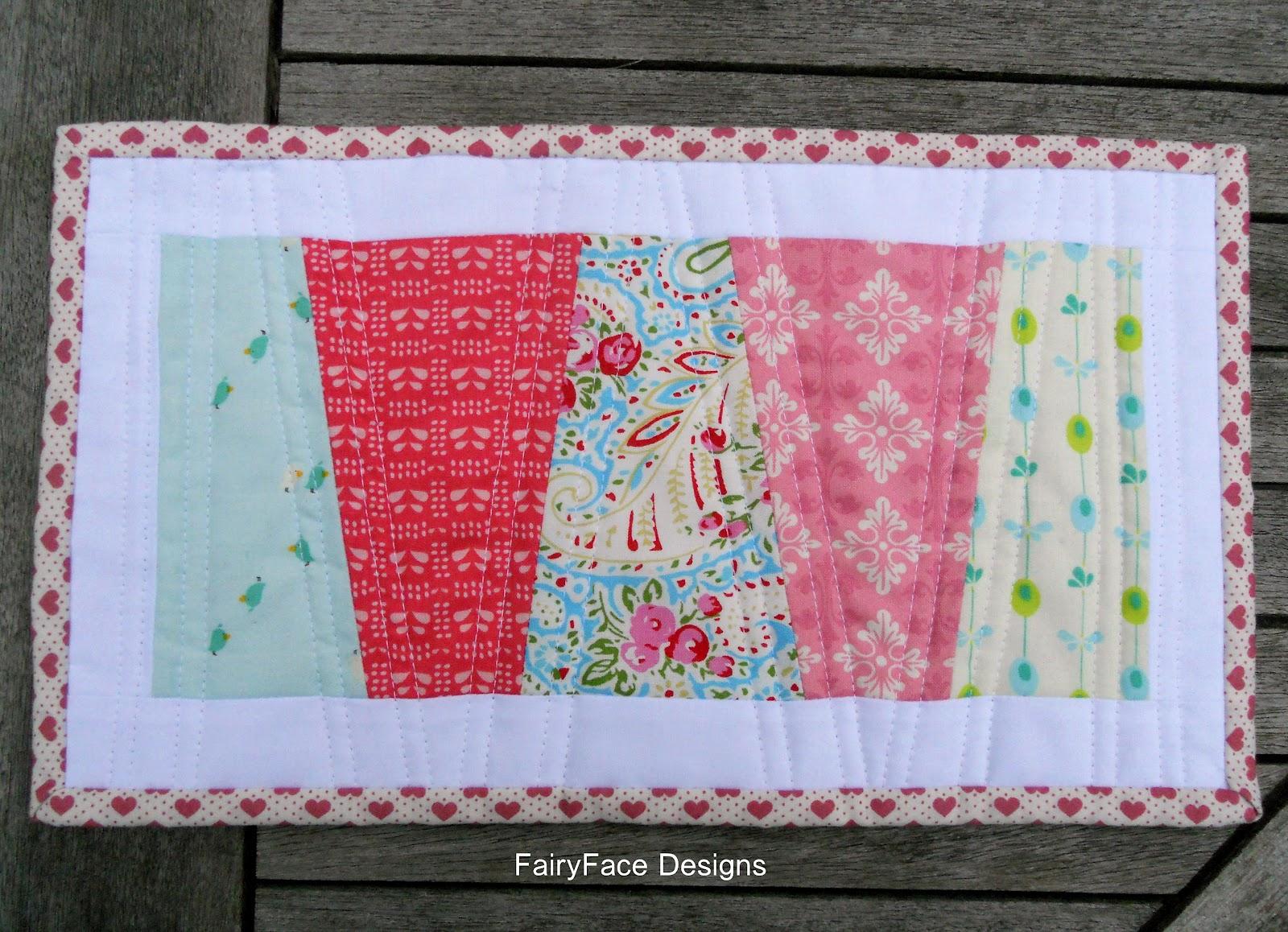 Fairyface Designs Sew Get Started Easy Mug Rug