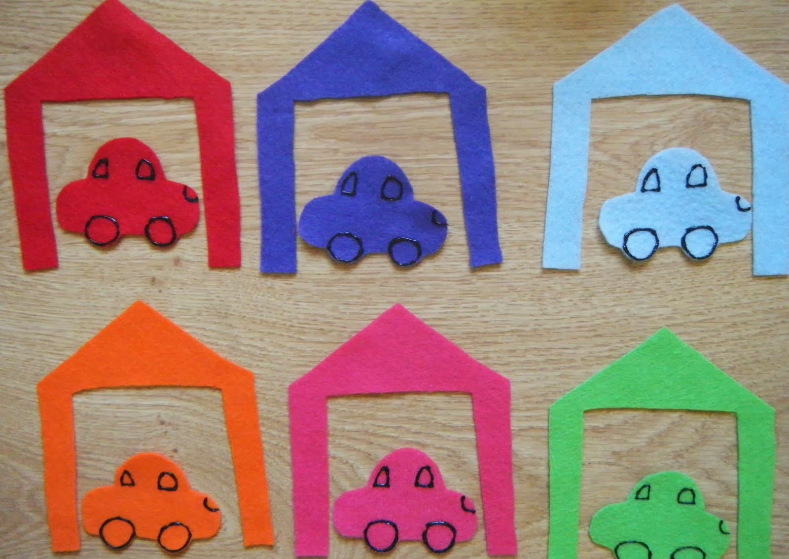 Ideas For Early Childhood Cars Preschool Theme