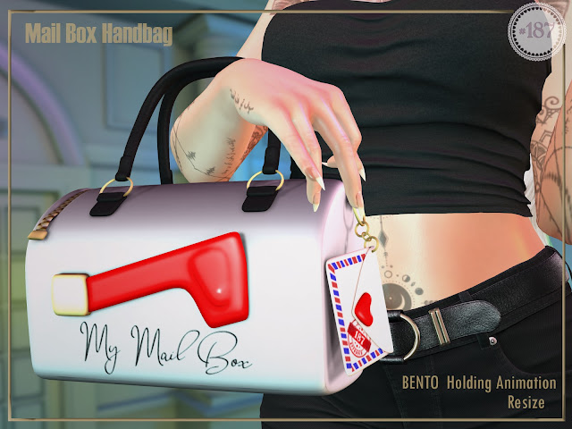 MailBox Handbag @ Cosmopolitan
