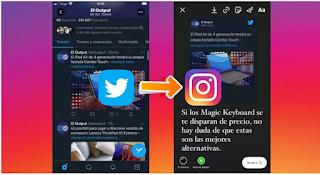 Cara Berbagi Tweet dari Twitter ke instagram Stories ternyata mudah