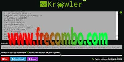 MailKrawler Email Access Checker And Searcher | Beta Version