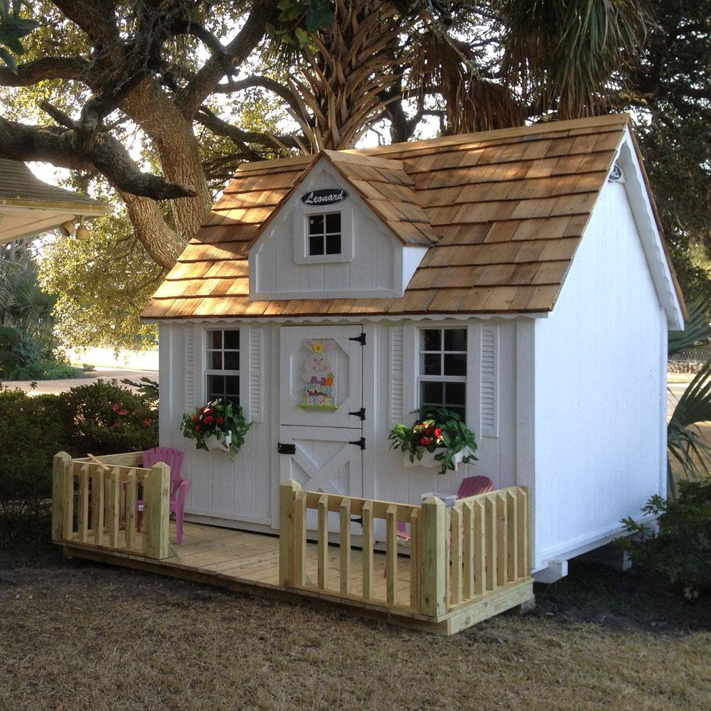 Diy girls and boys playhouse designs for backyard bahay ofw for Blueprints for playhouse