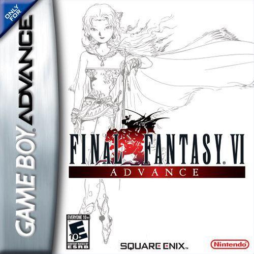 Final Fantasy VI Advance - Portada