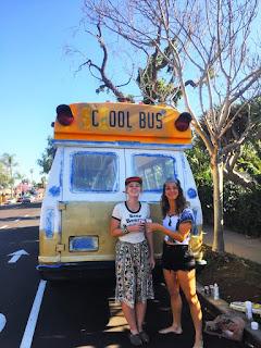viaggiare con uno scuolabus