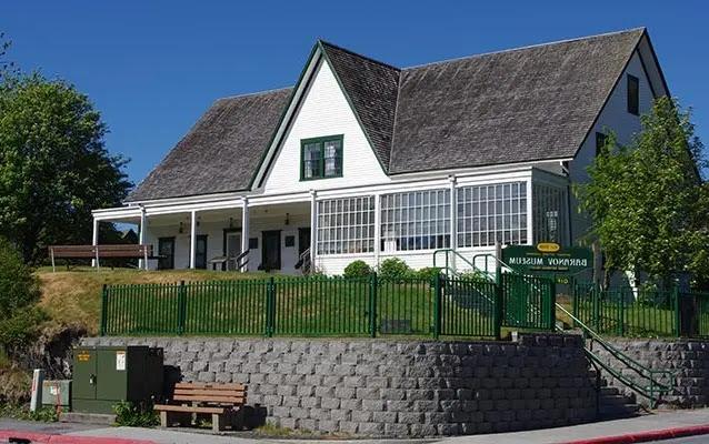 Baranov Museum in KodiaK, Alaska