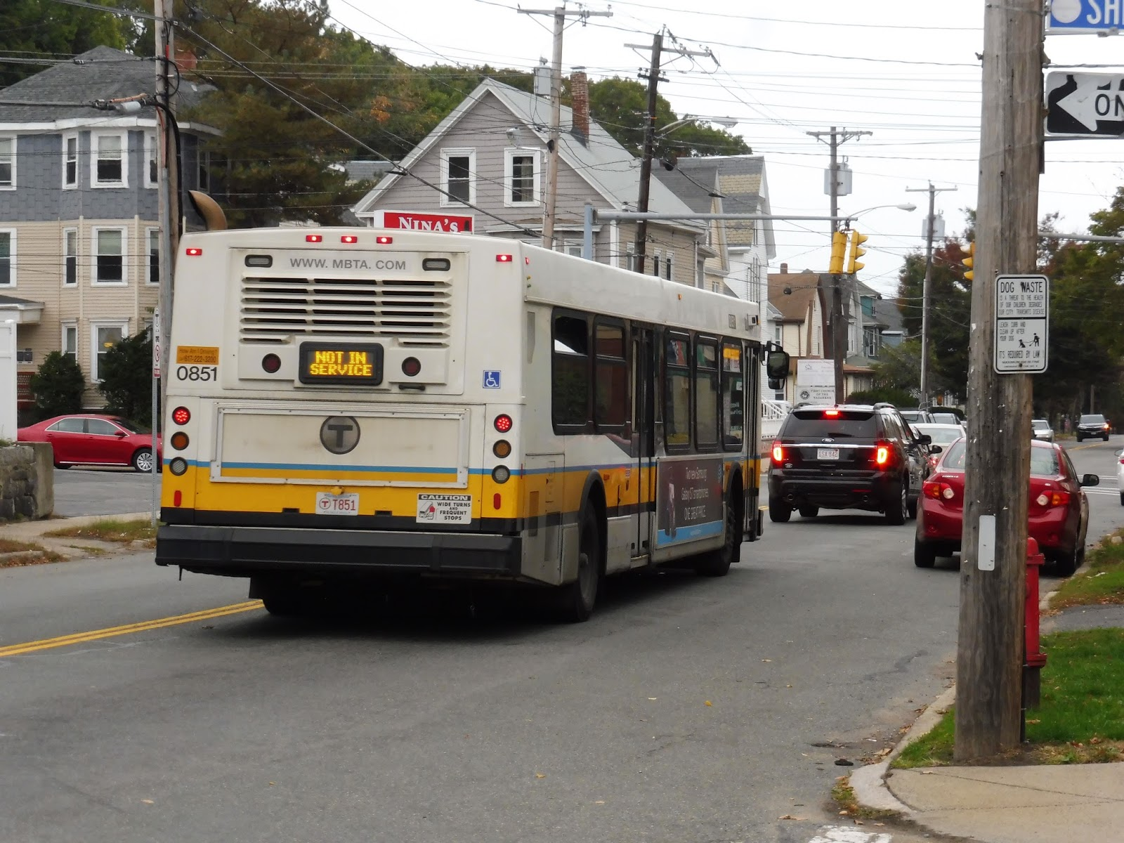 Miles On The Mbta 424 424w Eastern Ave And Essex Street