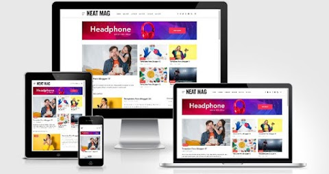 Neat Mag Responsive Blogger Template