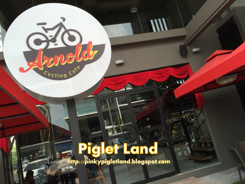 Arnold Cycling Cafe Menu