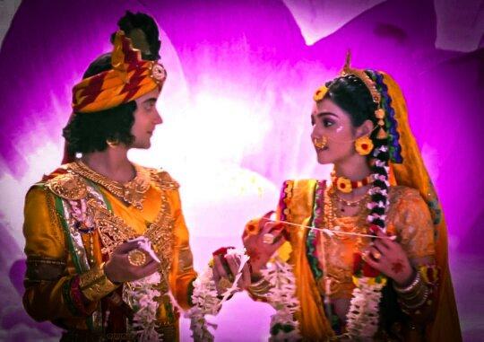 Radha krishna Status : Brahma vivaah Special