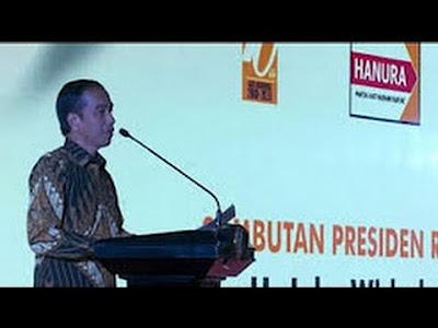 Hanura Tepis Mencalonkan Panglima TNI Sebagai Pendamping Jokowi