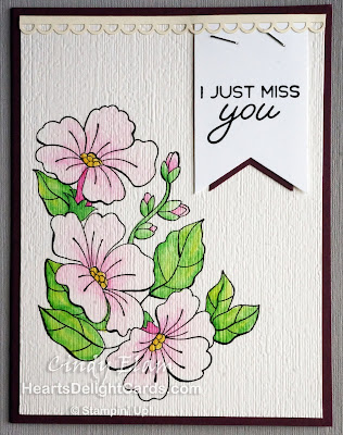 Heart's Delight Cards, Blended Seasons, Miss You, Stampin' Up!,