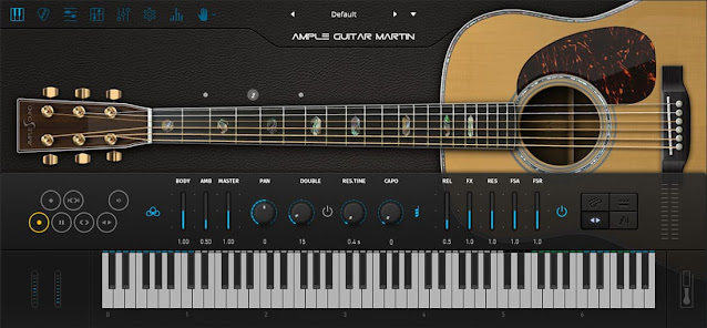 Interface Ample Guitar M III - Ample Sound