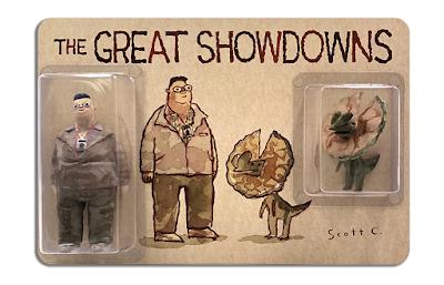 DKECON 2021 Exclusive The Great Showdowns Jurassic Park Resin Figure Set by Scott C. x DKE Toys