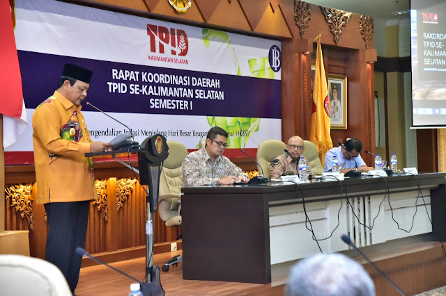 Paman Birin Ajak TPID Kendalikan Inflasi Jelang Ramadhan dan Idul Fitri