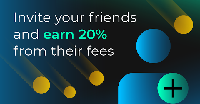 Earn up to EUR 100 💷 for each friend you invite 📧
