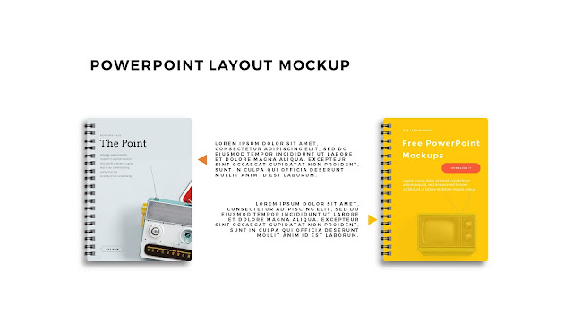 Infographic Spiral Book PowerPoint Mockup Template Slide 6