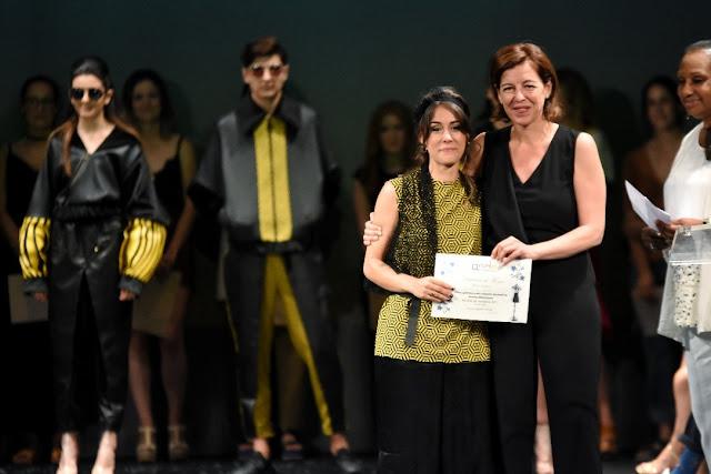Saray del Saz ganadora de los Premios Nacionales a la Moda 2017
