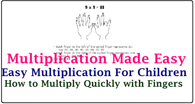 Easy Multiplication| Easy Multiplication with your Hands| Multiplication Tips and Tricks| How to Multiply fast | How to Multiply Quickly/2017/02/easy-multiplication-with-your-hands-fingers-tips-tricksto-multiply-fast.html