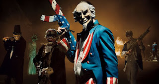 The Purge Election Year mask killer