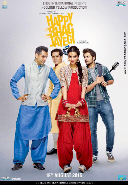 Happy Bhag Jayegi (2016) Movie Poster
