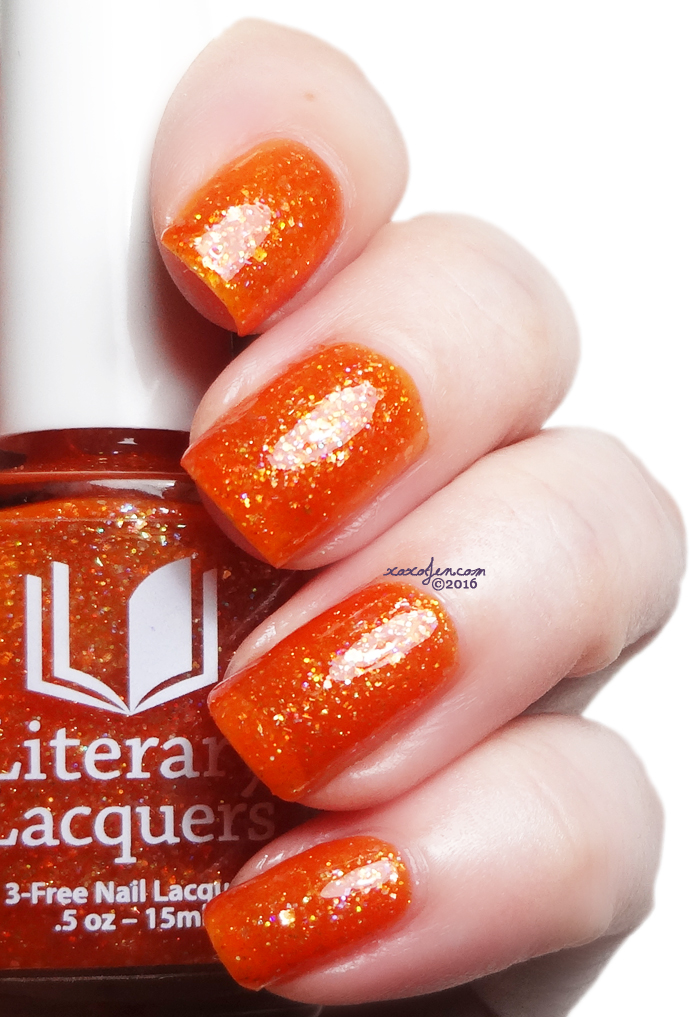 xoxoJen's swatch of Literary Lacquers Come and Take Me