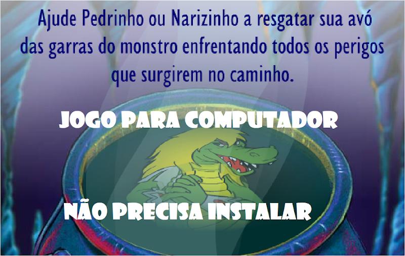 JOGO DO SÍTIO DO PICAPAU AMARELO PARA COMPUTADOR