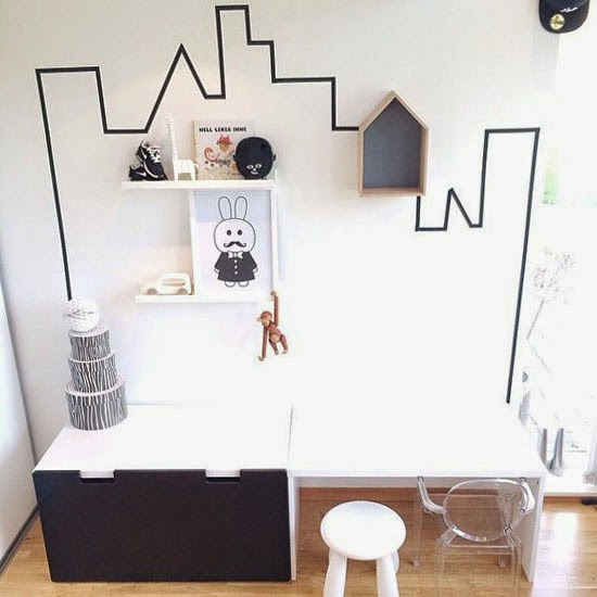 Mommo Design Black And White Ikea Hacks For Kids