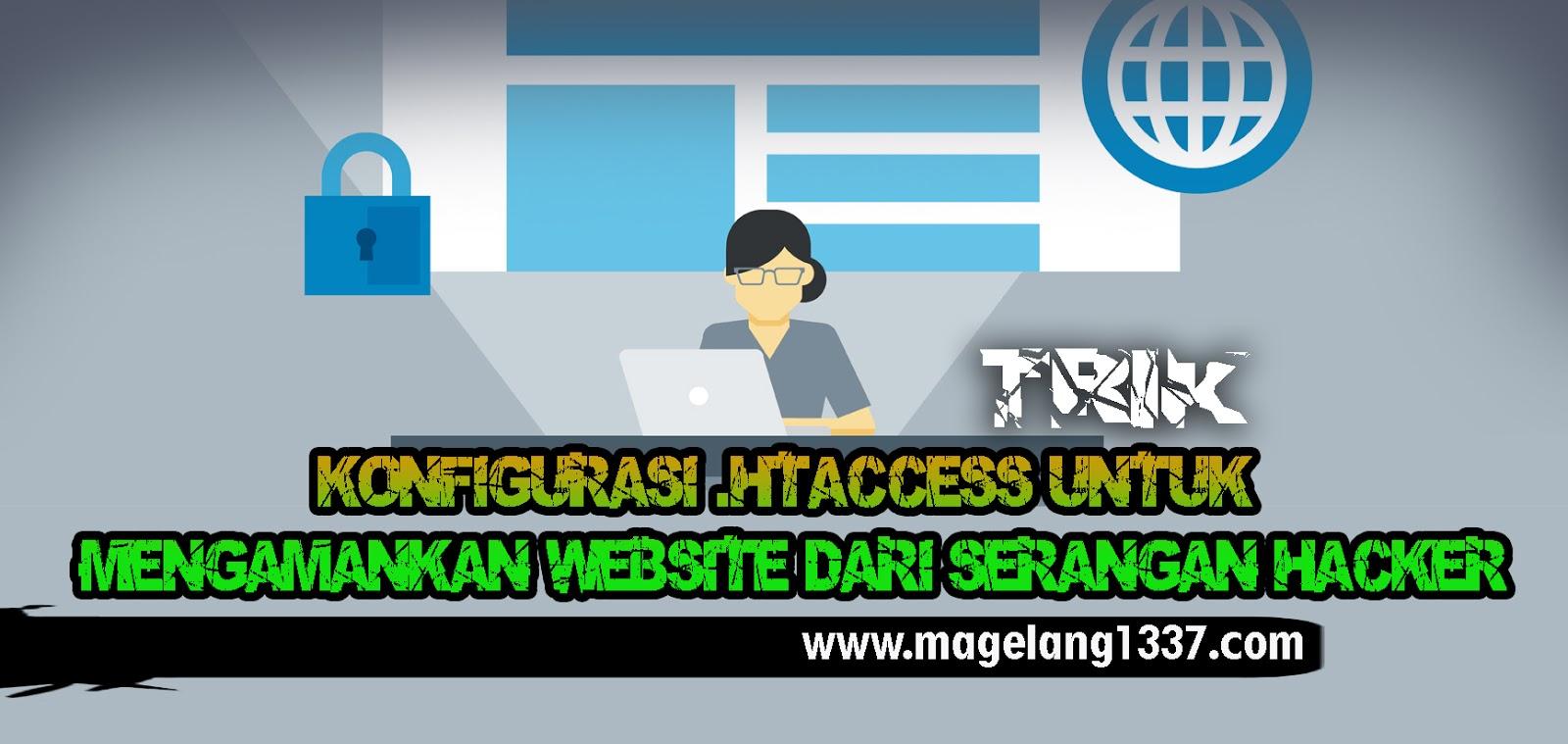 Konfigurasi  Htaccess Untuk Mengamankan Website Dari