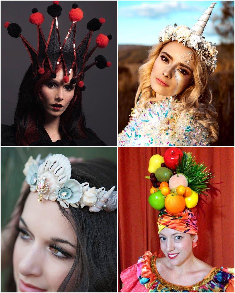 50 arranjos de cabeça para o carnaval maravilhosos e cruelty free