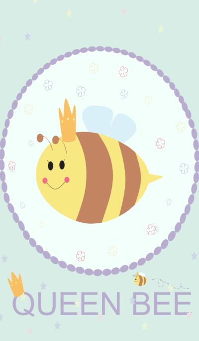 Simple Happy Queen Bee