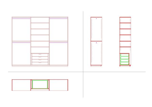 Costruiamo i mobili la costruzione del mobile 7 for Programma disegno mobili