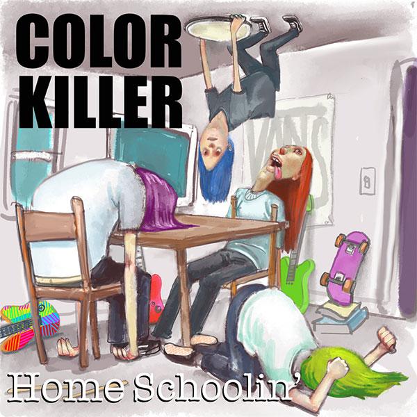 "Color Killer stream new song ""Home Schoolin'"""