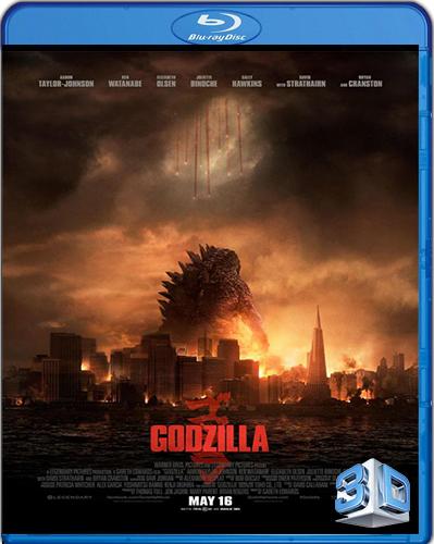 Godzilla [2014] [BD50] [3D] [Latino]