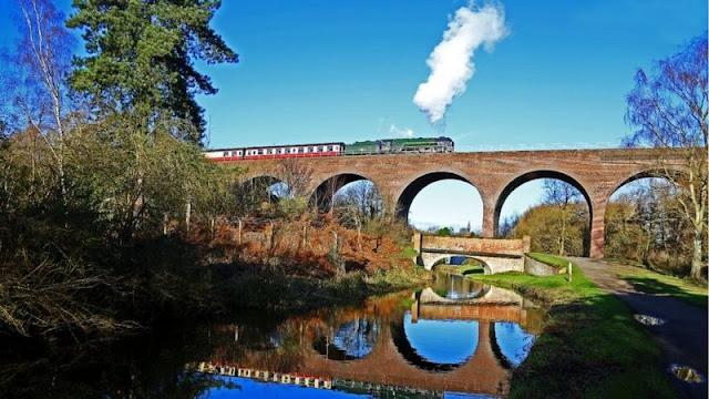 Enola Holmes train