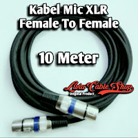Kabel Mic XLR Female To Female canon canare