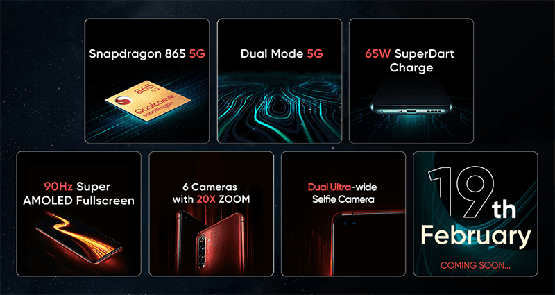 Key features of realme X50 Pro 5G