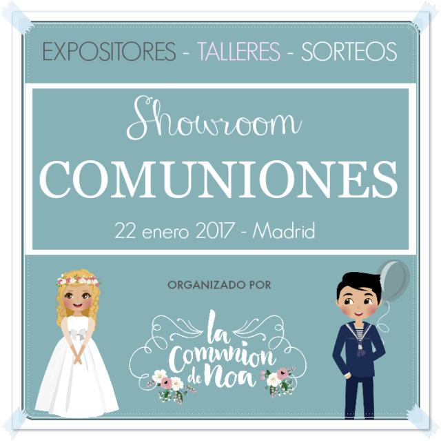 Showroom Comuniones 2017 - blog La Comunión de Noa