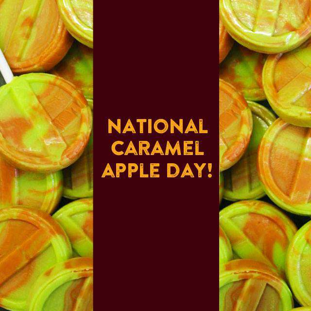 National Caramel Apple Day Wishes Photos