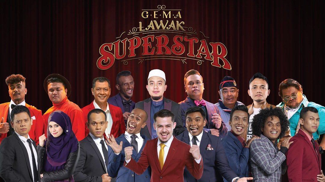 Saksikan Program Terbaru Astro Gema Lawak Superstar!