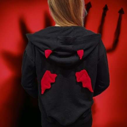 DIY: Devil hoodie