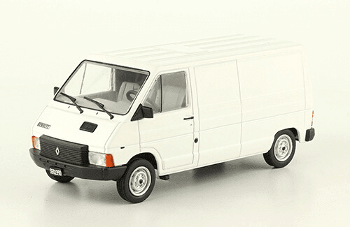 Renault Trafic 1985 1:43, autos inolvidables argentinos 80 90