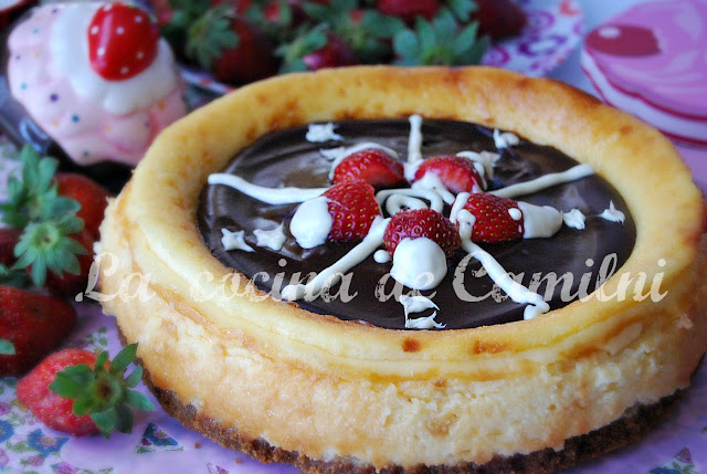 Tarta de queso en el horno (La cocina de Camilni)