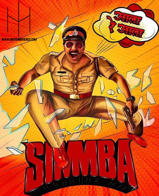 Ranveer Singh, Simmba, #Simmba, Bollywood, Movie Review, Bollywood Movie Review, Rohit Shetty, Blog, Blogs, Blogging, Bloggers, Movie Reviewers, Entertainment, Happening Heads, #HappeningHeads