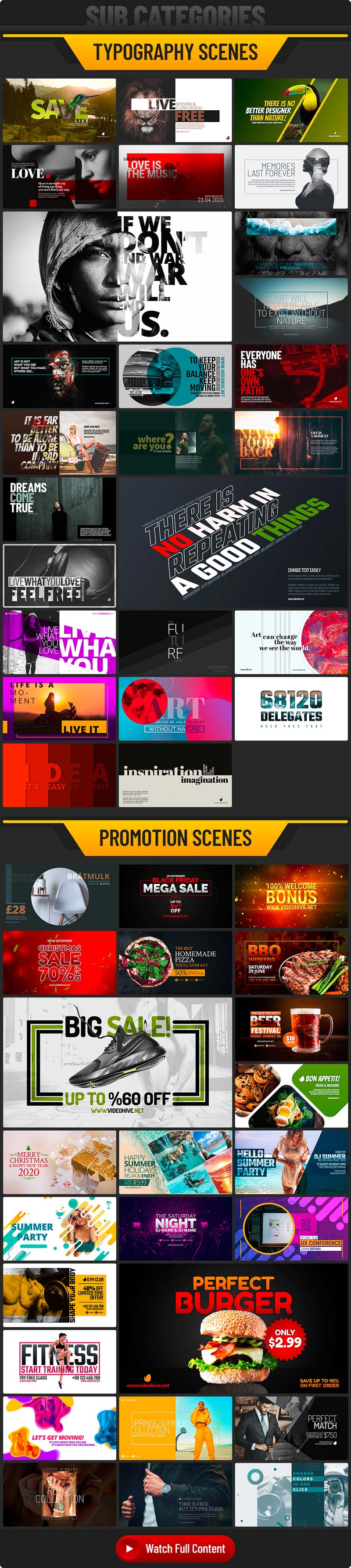 1000+ Motion Graphics Element Pack