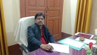 रामनगर विकासखंड के BDO बदले, वीर भानु ने संभाला कार्यभार   #NayaSaberaNetwork