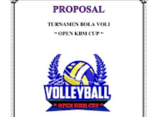 Proposal Permohonan Bantuan Dana Sarana Olahraga Bola Voli Karangtaruna
